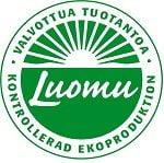 luomutuotteet, luomumysli -sipulikeitto -viljapihvi